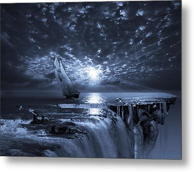 Final Frontier Voyager Metal Print by George Grie