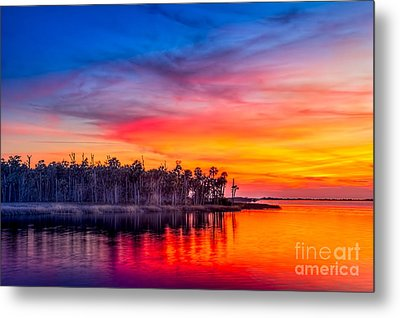Final Glow Metal Print by Marvin Spates