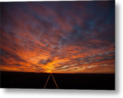 Metal Print featuring the photograph Find Your Path by Shirley Heier