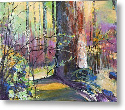 Finding The Forest Metal Print by Melody Cleary