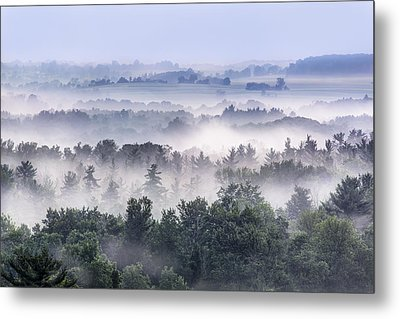 Finger Lakes Morning Metal Print