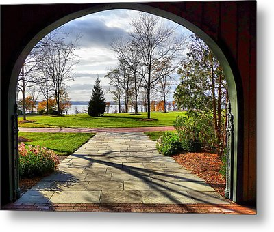 Metal Print featuring the photograph Finger Lakes View From Mackenzie Childs  by Mitchell R Grosky