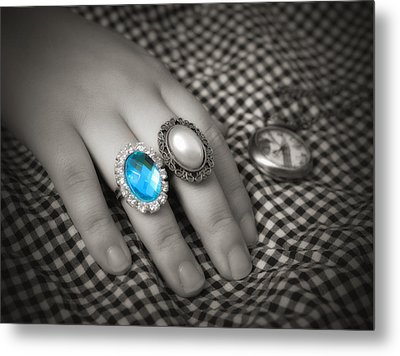 Metal Print featuring the photograph Fingers by Rachel Mirror
