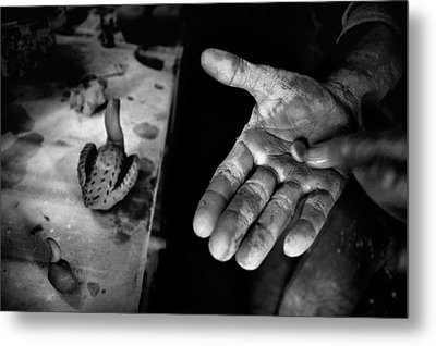 Finishing Touches Metal Print by Ilker Goksen
