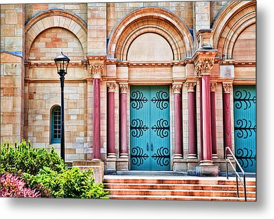 Finney Chapel Oberlin College Metal Print by Mary Timman