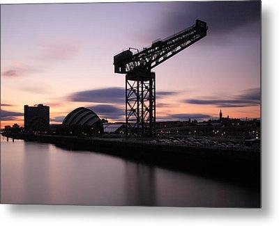 Finnieston Crane Glasgow  Metal Print by Grant Glendinning