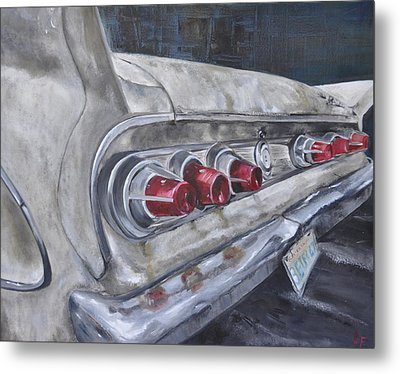 Fins Metal Print by Lindsay Frost