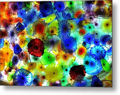 Fiori Di Como By Glass Sculptor Metal Print