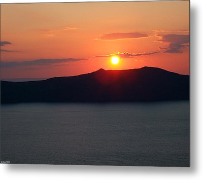Firastefani Sunset Metal Print