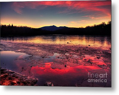 Fire And Ice At Price Metal Print