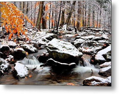 Fire And Ice Metal Print by JC Findley