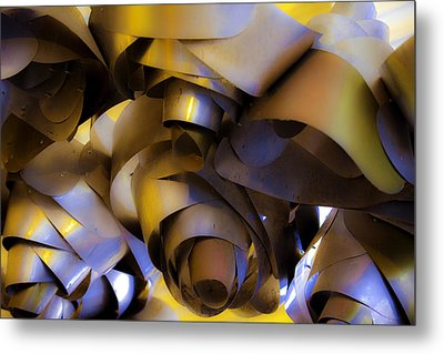 Fire And Steel Metal Print