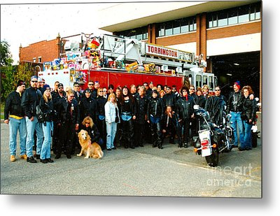 Fire Dept. Toy Run Metal Print