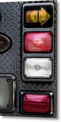 Fire Engine  Metal Print by Bob Orsillo
