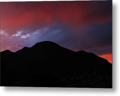 Fire In The Sky Metal Print by Kandy Hurley