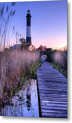 Fire Island Reflections Metal Print by JC Findley