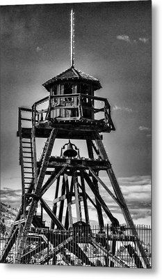 Fire Tower 2 Metal Print by Fran Riley