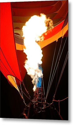 Fire Up The Night Metal Print