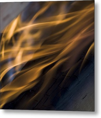 Metal Print featuring the photograph Fire by Yulia Kazansky