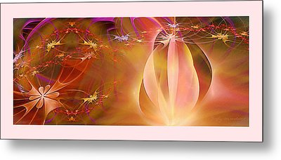 Firefly Metal Print by Gayle Odsather