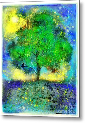 Firefly Summer Nights Metal Print
