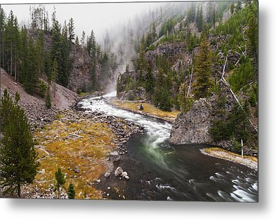 Firehole Canyon - Yellowstone Metal Print by Brian Harig