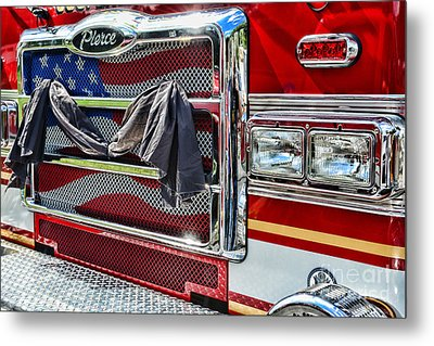 Fireman - Remembering Fallen Heroes Metal Print by Paul Ward
