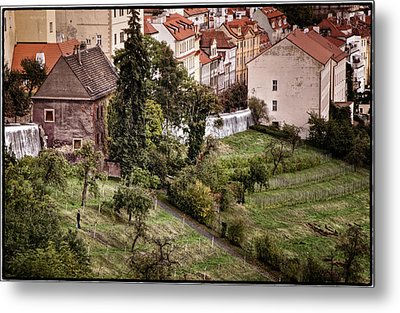 Firenze In Prague Metal Print by Joan Carroll