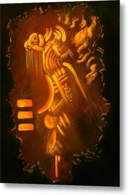 Firesign Metal Print by Sarai Rosario