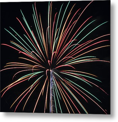 Fireworks 20 Metal Print by Staci Bigelow