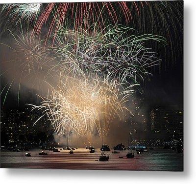 Fireworks In Englishbay 1 Metal Print