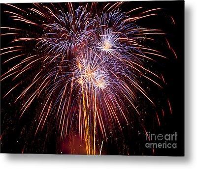 Fireworks Metal Print by Philip Pound