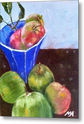 First Apples Metal Print