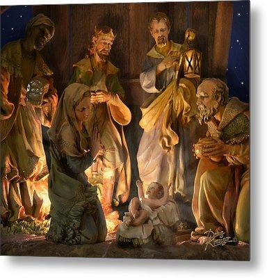 First Christmas Metal Print by Doug Kreuger