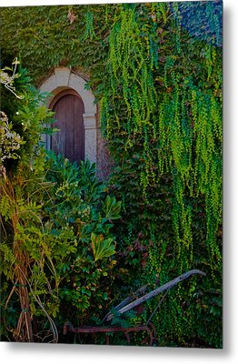 First Door On The Left Metal Print by Bill Gallagher