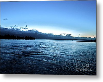 First Ferry Home Metal Print