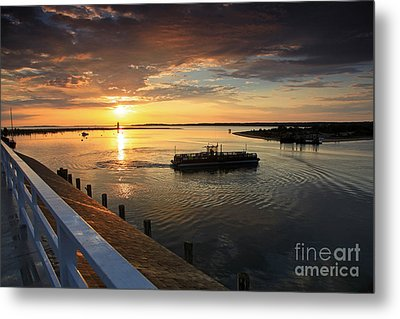First Ferry To Chappaquidick Metal Print