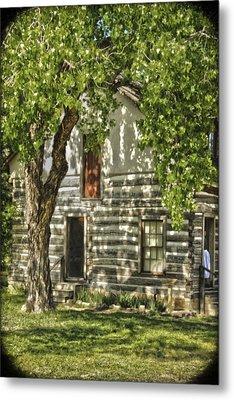 First House In Wichita Metal Print