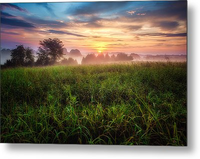 Metal Print featuring the photograph First Light by Joshua Minso