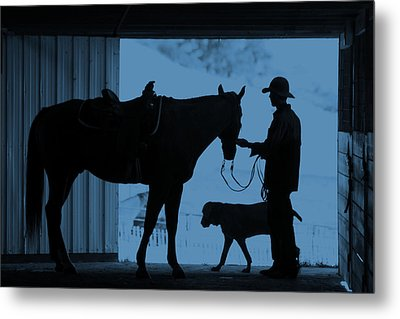 Metal Print featuring the photograph First Light by Steven Bateson