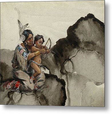 First Nations 38 Metal Print