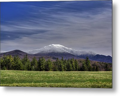 First Snow On Lafayette Metal Print by Chris Whiton