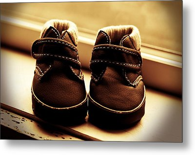Metal Print featuring the photograph First Steps by Aaron Berg