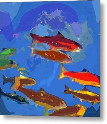 Fish 1 Metal Print by David Klaboe