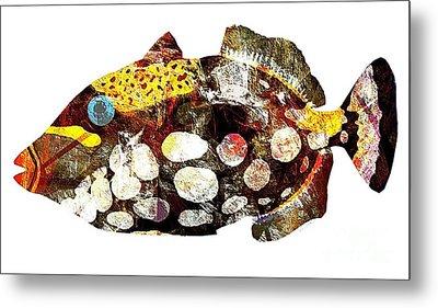 Fish 504-11-13 Marucii Metal Print by Marek Lutek