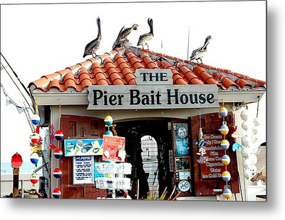 Fish House Metal Print by  George Griffiths