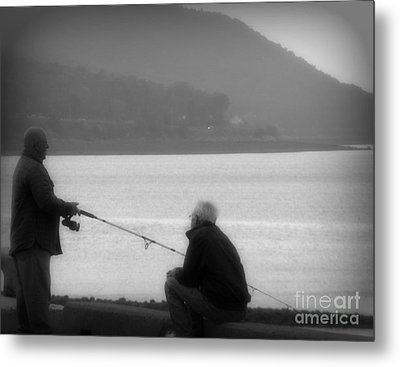 Fish Tales Metal Print by Lorraine Heath