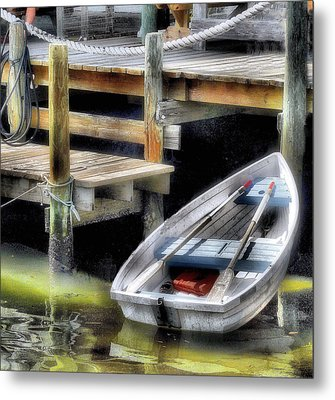 Fish Tales Metal Print