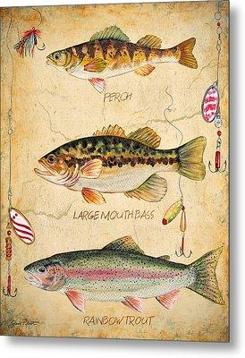 Fish Trio-b Metal Print