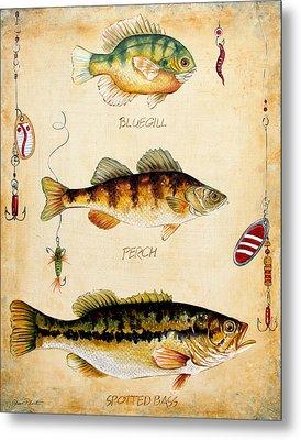 Fish Trio-c Metal Print